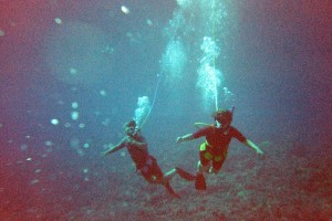 unusual extreme watersports snuba diving