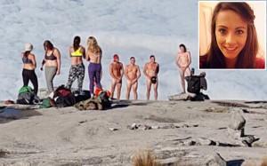 uk tourist apologises for naked selfie
