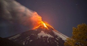 chile's most active volcano