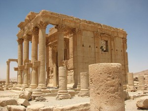 ISIS destroys temple in Palmyra