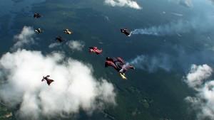 wingsuit flying
