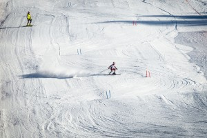 skiing in Latvia