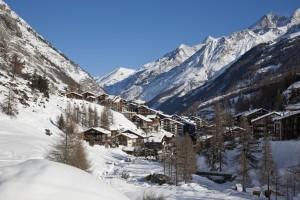 where to ski in swiss alps