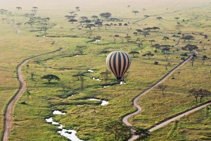 adventurous hot air ballooning