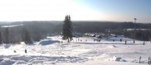 skiing in Estonia
