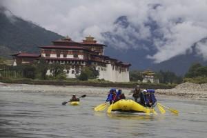 kayaking in bhutan
