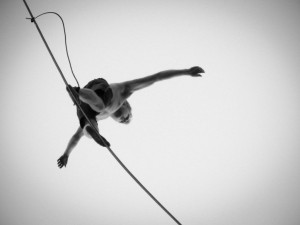 Tightrope Walking and Slacklining
