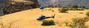 helicopter safari Ethiopia