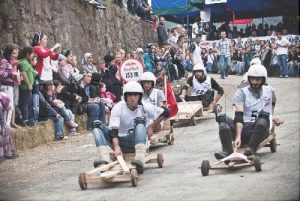 Red Bull Wooden Car Race