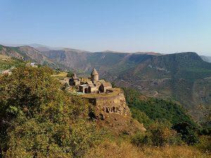adventure road trip in Caucasus